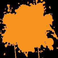Orange Splodge